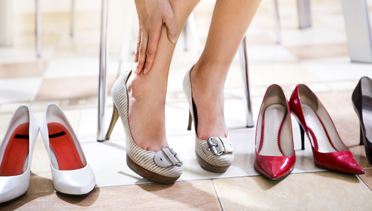 タコ 靴選び