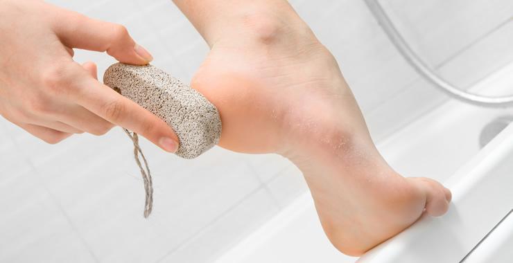 入浴時の角質ケア
